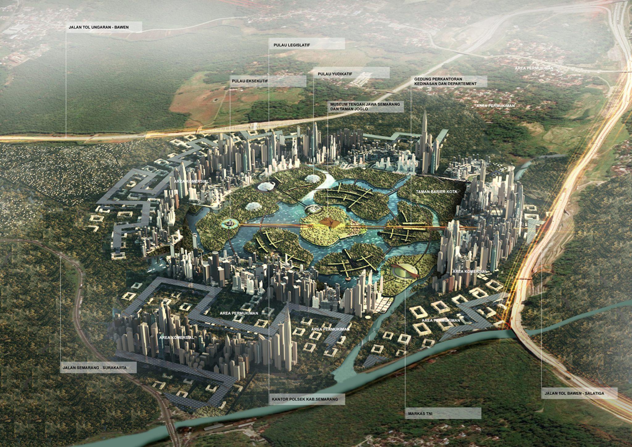 Semarang Regency Capital Masterplan